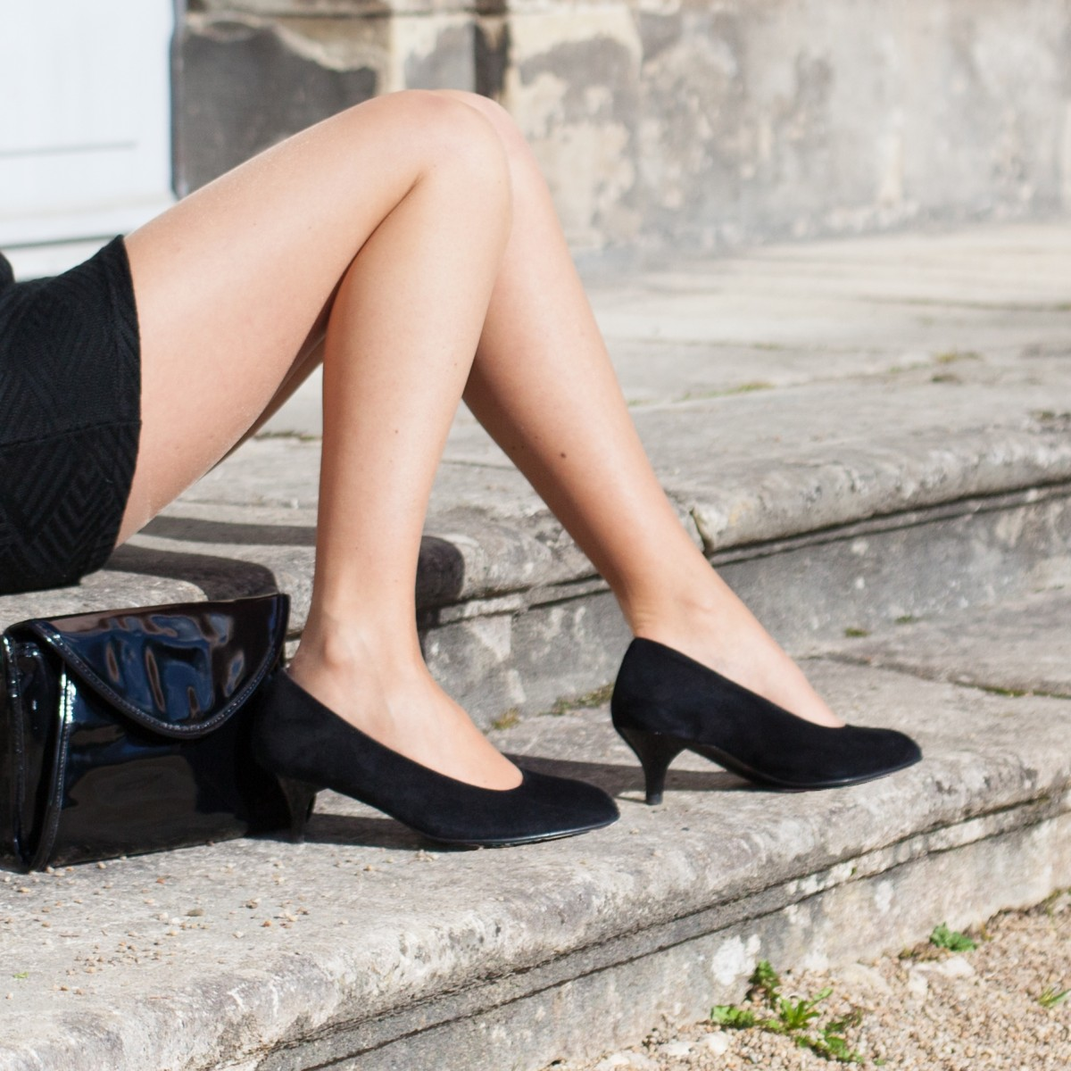 Chaussures hallux valgus Florentin Noir