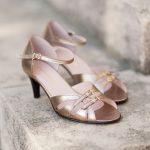 Sandales hallux valgus Meringue Bronze Doré