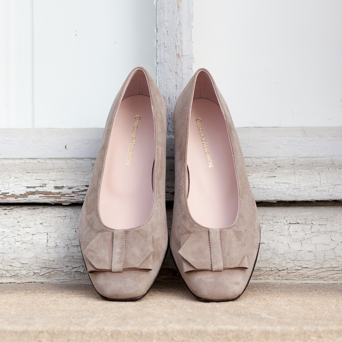Chaussures hallux valgus Génoise Taupe