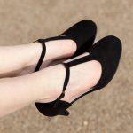 Chaussures hallux valgus Mystère Noir