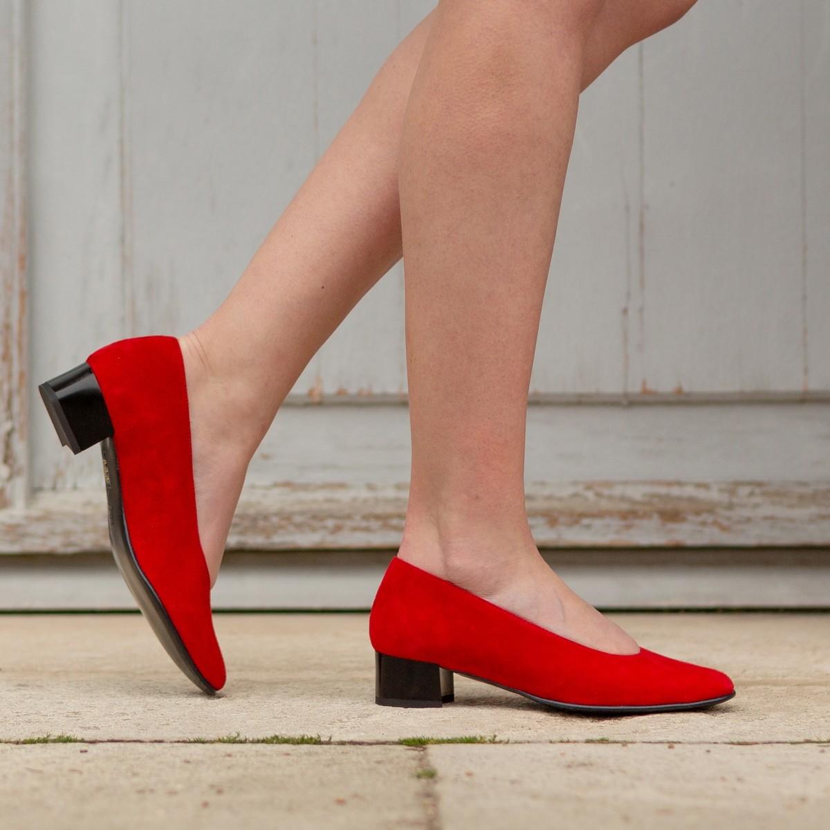 Chaussures hallux valgus Gaufrette Rubis