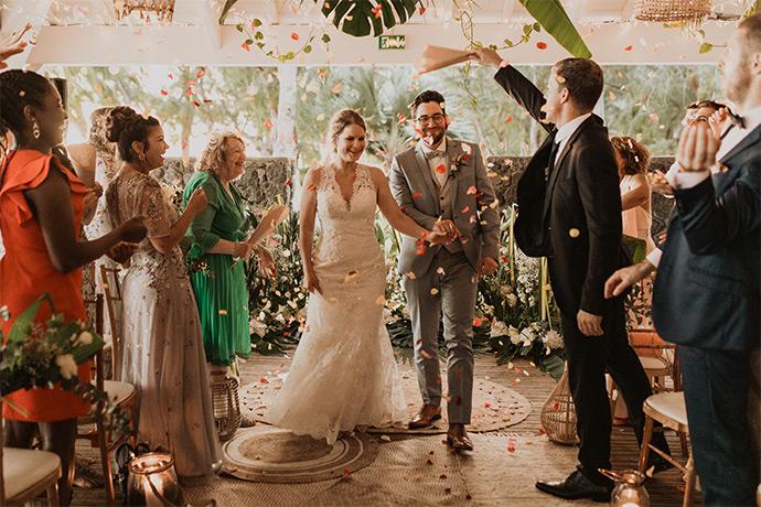Mariage Ile de la Réunion